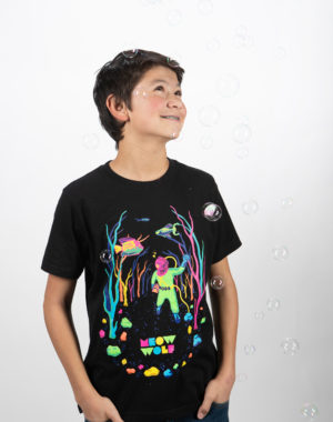 Glo-quarium Youth T-Shirt - Meow Wolf