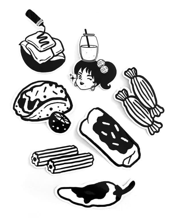 Taqueria Sticker Pack - Future Fantasy Delight