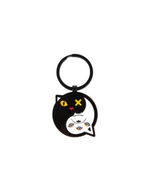 Yin Yang Keychain Meow Wolf