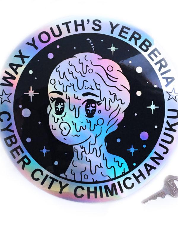 Future Fantasy Delight - Wax Youth Hologram Sticker