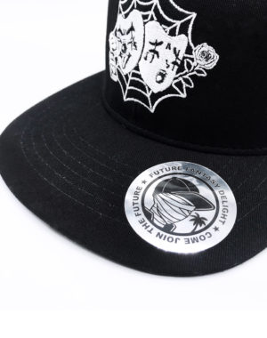 Future Fantasy Delight - Laugh Now Cry Later Flat Brim 6 Panel Snapback