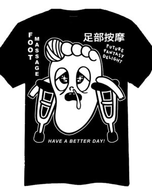 Future Fantasy Delight - FFD Foot Massage T-Shirt