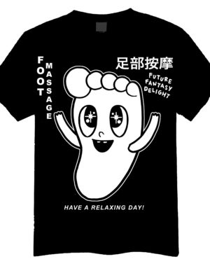 Future Fantasy Delight - FFD Foot Massage T-Shirt