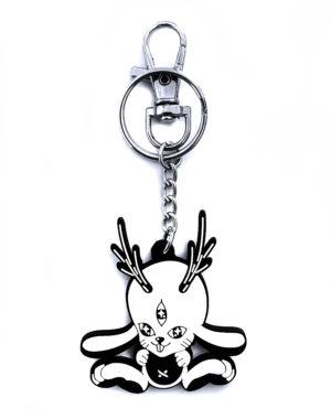 Future Fantasy Delight - Jackalope Keychain