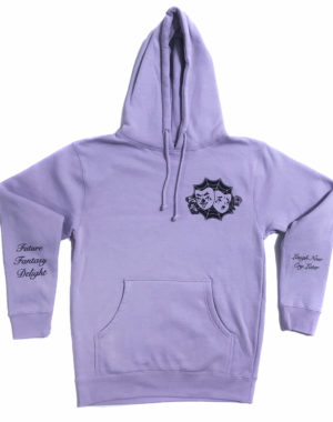 Future Fantasy Delight - Laugh Now Cry Later Hoodie - Lavender