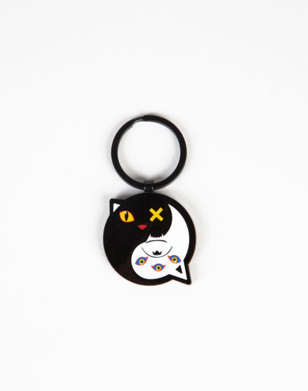 Meow Wolf Yin Yang Keychain