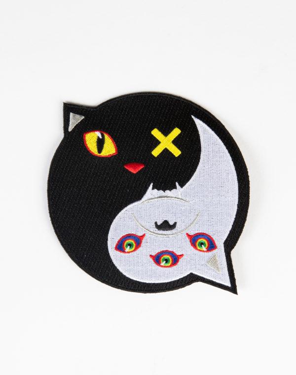 Meow Wolf Yin Yang Patch