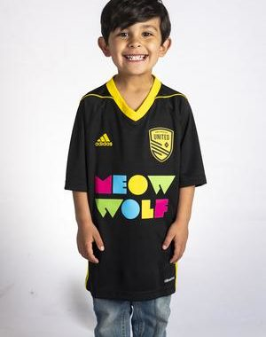 NM United Youth Jersey Meow Wolf