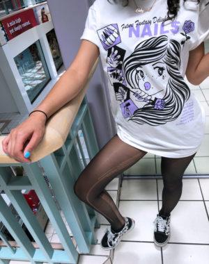 Future Fantasy Delight - Nail Salon T-Shirt