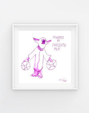 Legit Concerns - Chocolate_Milk_Mikey_Rae_Artwork - Meow Wolf