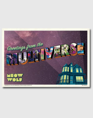 Greetings from the Multiverse Postcard