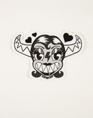 Ink Girl Sticker - Dylan Pommer - Rust This World