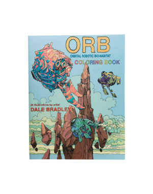 Orb Coloring Book Dale Bradley Meow Wolf