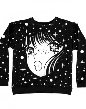 Sadgirl Crewneck Sweater - Future Fantasy Delight