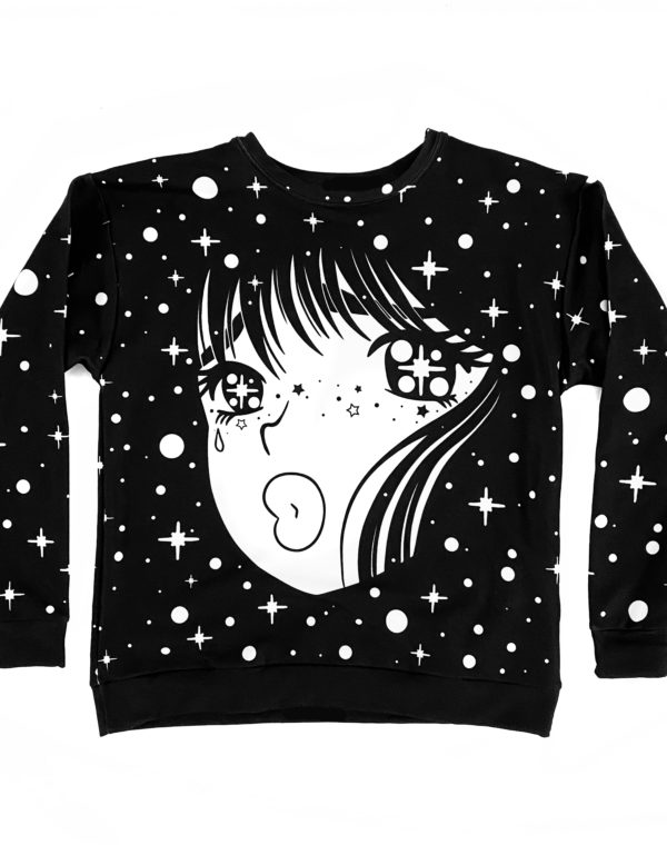 Sadgirl Crewneck Sweater - Future Fantasy Delight