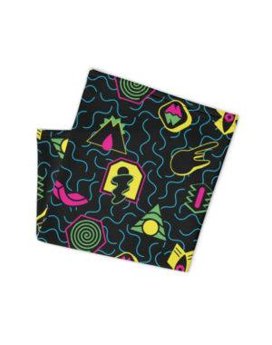 Meow Wolf Spacetime Portals Neck Gaiter Face Mask