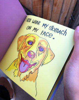 Legit Concerns - Being a Dog is Like Being a Kid Book - Meow Wolf - Mikey Rae