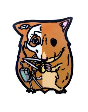 Nimsesku Sticker - Meow Wolf