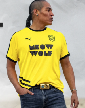 NM United x Meow Wolf 2020 Away Jersey