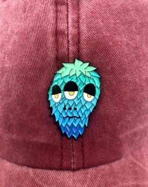 Jaelah Three-Eyed Monster Pin