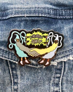 Spencer Olsen Wizard Friendship Pin